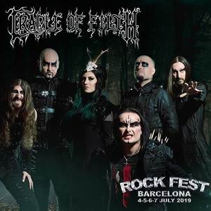 cradle of filth rock fest