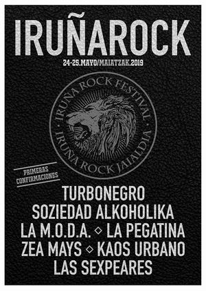 iruña rock festival 2019 primeras confirmaciones
