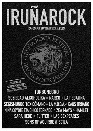 iruña rock segunda tanda de confirmaciones 2019