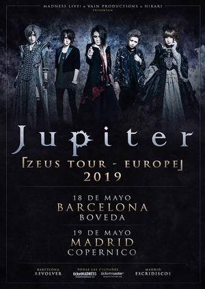 jupiter españa 2019