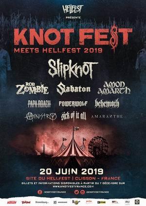 knotfest francia slipknot 2019