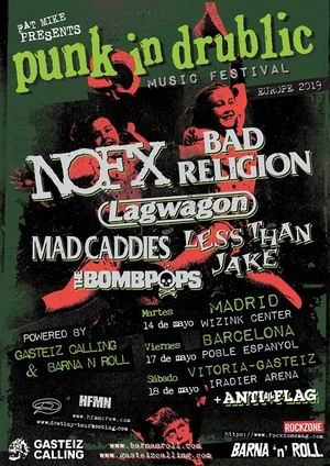 punk in drublic festival bad religion nofx lagwagon