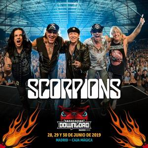 scorpions download madrid