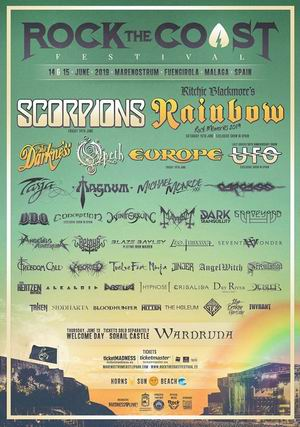 scorpions europe rock the coast festival 2019