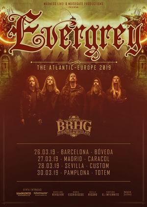 Evergrey españa 2019