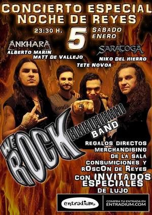 concierto noche de reyes we rock madrid