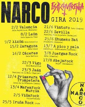 narco primeras fechas 2019