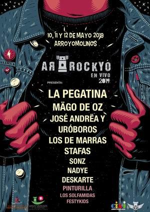 arrockyo en vivo 2019 la pegatina mago de oz arroyomolinos 2