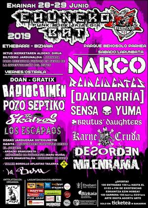 ehuneko bat festival 2019
