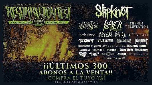 resurrection fest 2019 ultimos 300 abonos