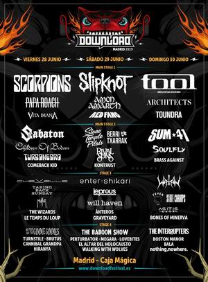 download festival madrid cartel definitivo