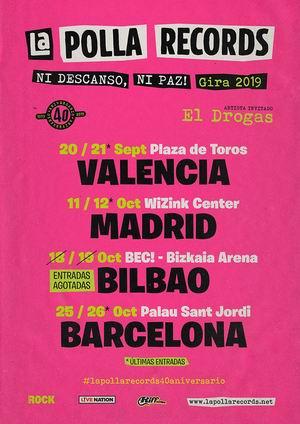 la polla records segunda fecha barcelona y valencia