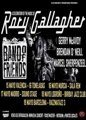 bands of friends rory gallagher españa 2019 2