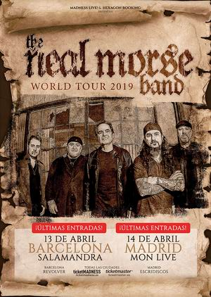 neal morse band barcelona madrid