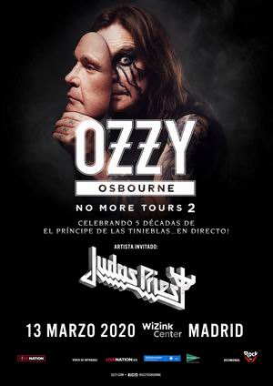 ozzy osbourne judas priest madrid wizink center