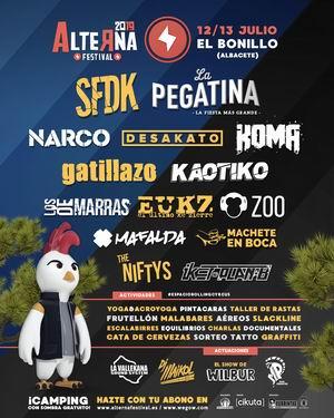 alterna festival 2019 el bonillo albacete