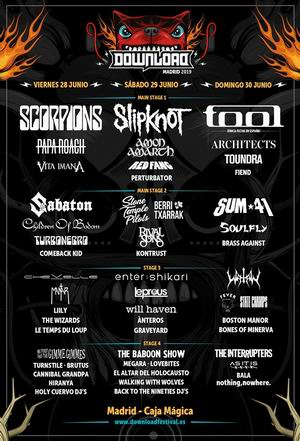 download festival cartel definitivo 2019