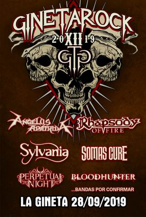 gineta rock 2019 rhapsody of fire