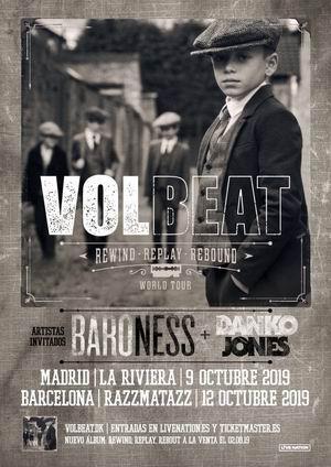 volbeat madrid barcelona