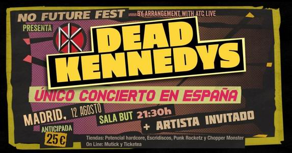 dead kennedys madrid