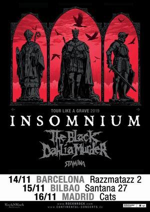 insomnium gira española 2019