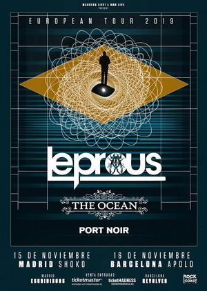 leprous the ocean madrid barcelona 2019