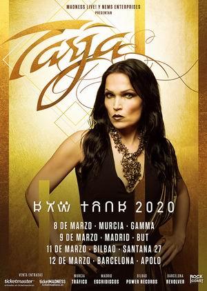 tarja españa 2019