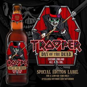 cerveza trooper day of the dead iron maiden