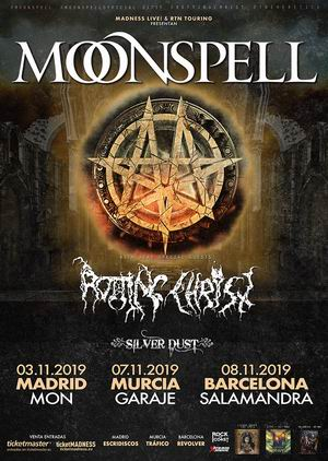 monspell rotting christ madrid barcelona murcia
