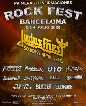 rock fest barcelona 2020 judas priest