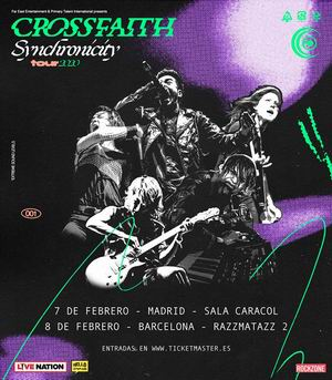crossfaith madrid barcelona 2020