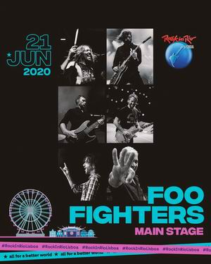 foo fighters rock in rio lisboa