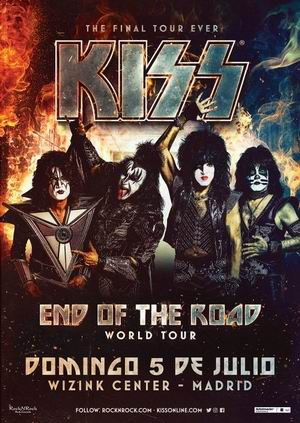 kiss madrid 2020 despedida wizink center 2