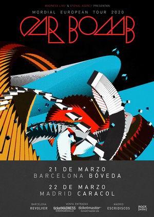 car bomb marzo 2020 madrid barcelona
