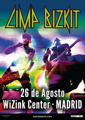 limp bizkit madrid agosto wizink center