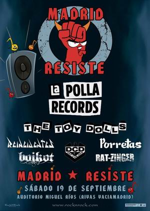 madrid resiste la polla records the toy dolls