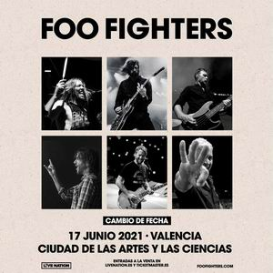 foo fighters valencia aplazado a 2021