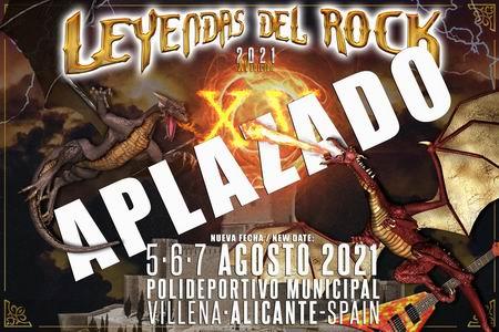 leyendas del rock festival 2020 aplazado a 2021 2