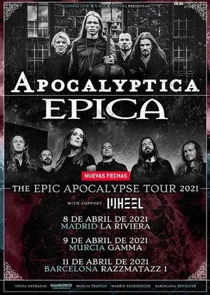 apocalyptica epica nuevas fechas 2