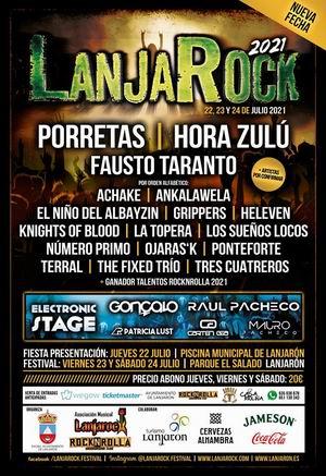 lanjarock festival aplazado a 2021