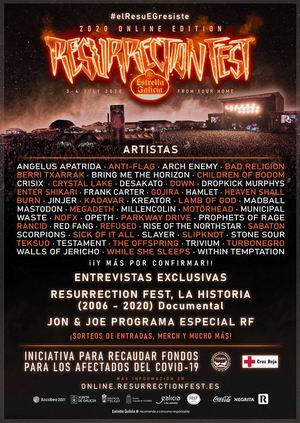 resurrection fest online 2020