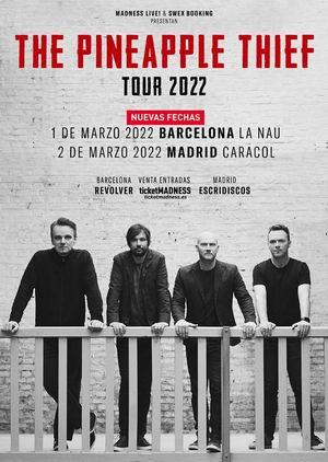 the pinneapple thief tour aplazado a 2021