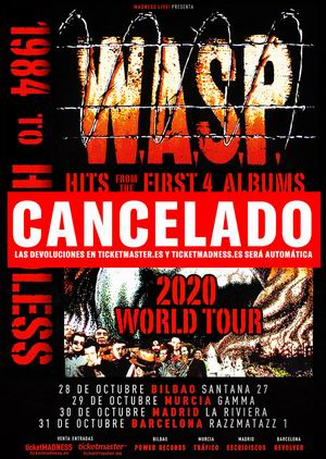 wasp gira cancelada 2