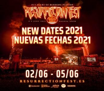 resurrection fest 2021 nuevas fechas