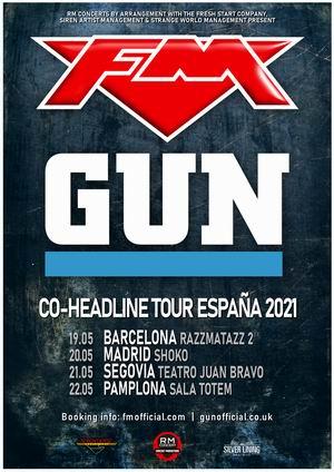 FM Gun gira compartida españa mayo 2021