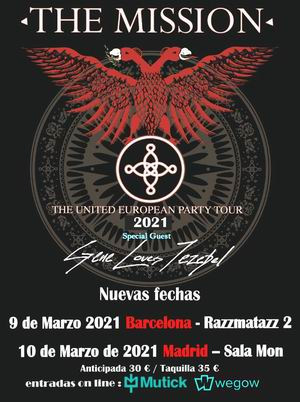 the mission gira española 2021