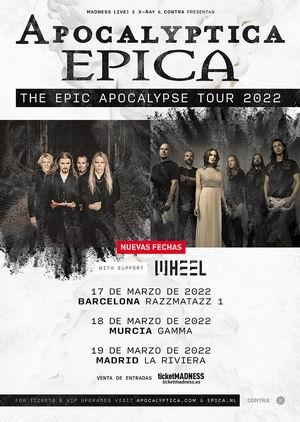 Apocalyptica Epica 2022 españa 2