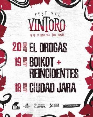 festival vintoro toro zamora el drogas boikot reincidentes ciudad jara 2