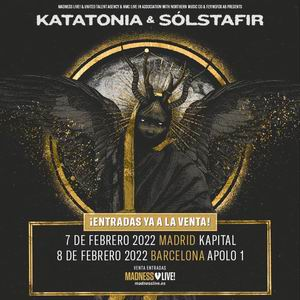 katatonia solsfair madrid barcelona 2022