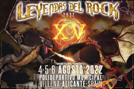 leyendas del rock aplazado a 2022